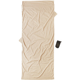 Cocoon Insect Shield TravelSheet Inlet Egyptian Cotton, sand